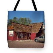 Route 66 - Bagdad Cafe Tote Bag
