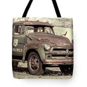 Route 66 Chevy Tumbleweed - #3 Tote Bag