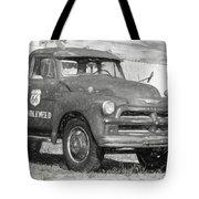 Route 66 Chevy Tumbleweed - #5 Tote Bag