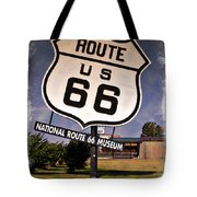 Route 66 Museum - Impressions Tote Bag