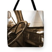 Route 66 - Parking At The Wigwam Tote Bag