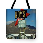 Route 66 - Roy's Of Amboy California 2 Tote Bag