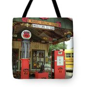 Route 66 - Shea's Gas Station Tote Bag