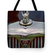 Rover Radiator And Hood Ornament Tote Bag