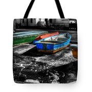 Row Boats At Mudeford Tote Bag