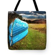 Row Boats In Waiting Tote Bag