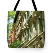 Row Houses In White Tote Bag