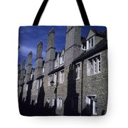 Row Houses Stand Huddled Together Tote Bag