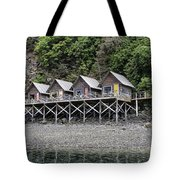 Row Of Camps Tote Bag