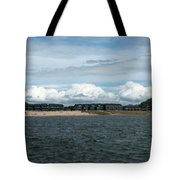 Row Of Clouds Tote Bag