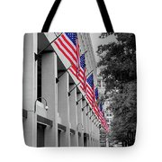 Row Of Flags Tote Bag