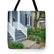 Row Of Historic Row Houses Tote Bag
