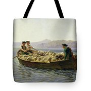 Rowing Boat Tote Bag