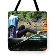 Rowing Boat With Legs, Tam Coc  Tote Bag