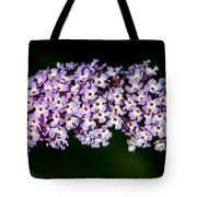 Rows And Flows Of Angel Flowers Tote Bag