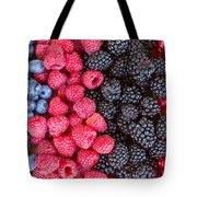 Rows Of  Berries  Tote Bag