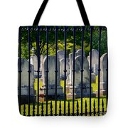 Rows Of Stone And Iron Tote Bag