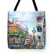 Royal Balconies Tote Bag