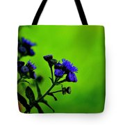 Royal Blue In A Sea Of Green Tote Bag