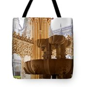 Royal Cloister Of The Batalha Monastery Tote Bag