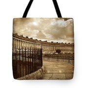 Royal Crescent Bath Somerset England Uk Tote Bag