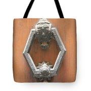 Royal Door Knocker Tote Bag