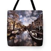 Royal Dutch Canals Tote Bag