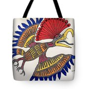 Royal Flycatcher- Mayan 2 Tote Bag