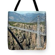 Royal Gorge Bridge In Summer Tote Bag