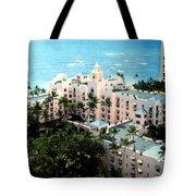 Royal Hawaiian Hotel  Tote Bag