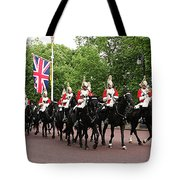 Royal Household Cavalry Tote Bag