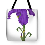 Royal Iris II Tote Bag