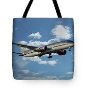 Royal Jordanian 787 Jy-baf Tote Bag