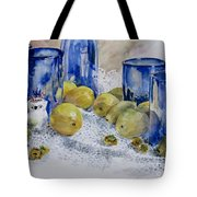 Royal Lemons Tote Bag