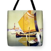Royal Mail Atlantis Autumn Cruises Vintage Travel Poster Tote Bag
