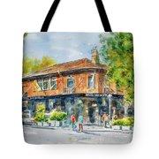Royal Oak Hotel Tote Bag by Debbie Lewis