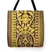 Royal Palace Gilded Door 01 Tote Bag
