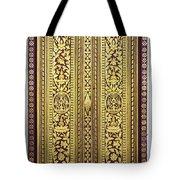 Royal Palace Gilded Doors Tote Bag