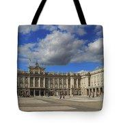 Royal Palace Of Madrid Spain Tote Bag