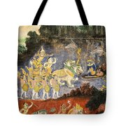Royal Palace Ramayana 08 Tote Bag