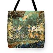 Royal Palace Ramayana 14 Tote Bag