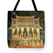 Royal Palace Ramayana 18 Tote Bag
