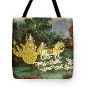 Royal Palace Ramayana 19 Tote Bag