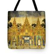 Royal Palace Ramayana 20 Tote Bag