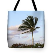 Royal Palm Tree Tote Bag