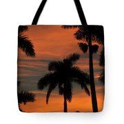 Royal Palms Tote Bag