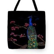 Royal Peacock Tote Bag