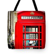 Royal Red Tote Bag
