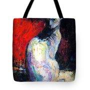 Royal Sphynx Cat Painting Tote Bag by Svetlana Novikova