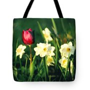 Royal Spring Tote Bag